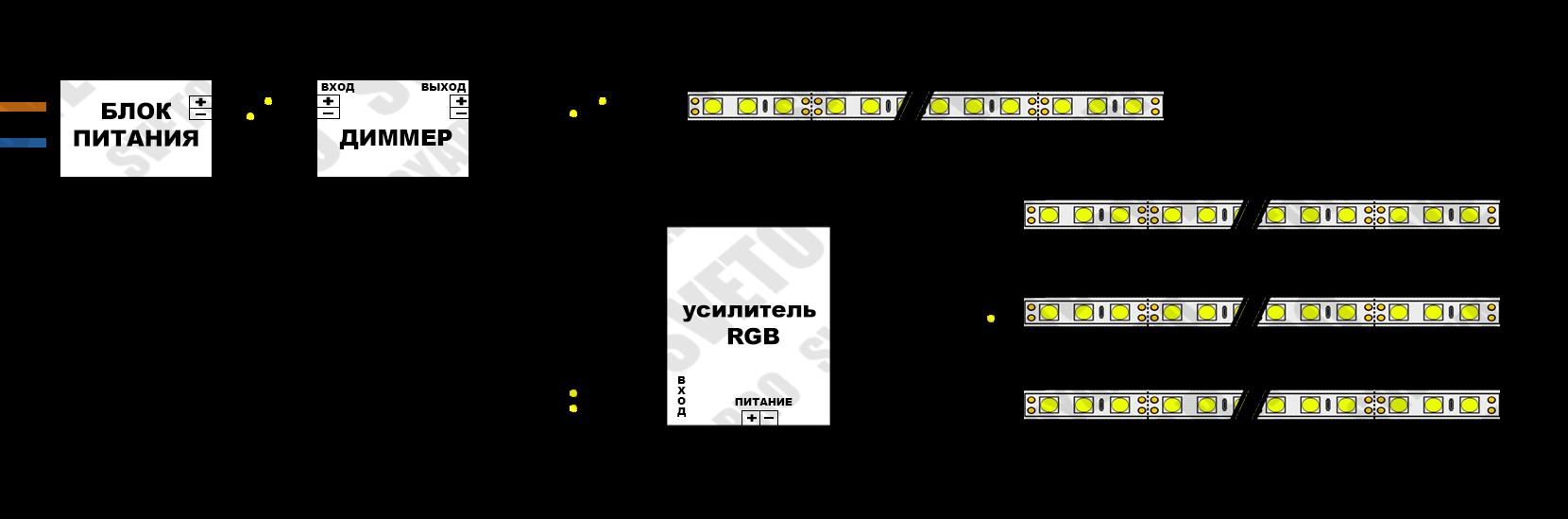 диммер 12в схема